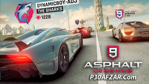 Asphalt 9: Legends - آسفالت 9