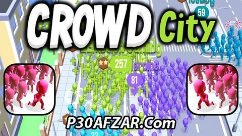 بازی Crowd City