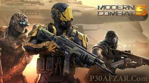 بازی Modern Combat 5: eSports FPS