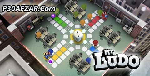 بازی منچ Ludo Online (Mr Ludo)