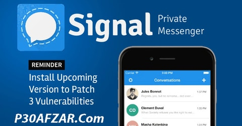 Signal Private Messenger - پیام سان سیگنال