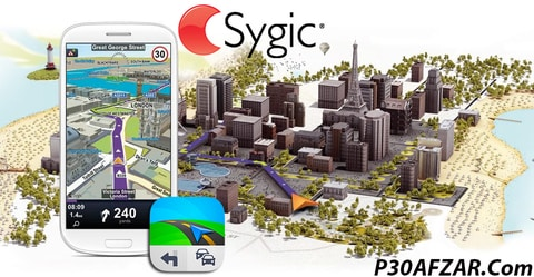مسیریاب آفلاین سایجیک - Sygic