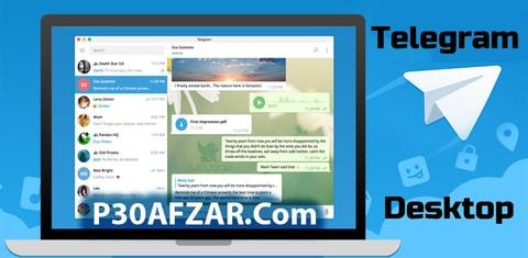 ویندوز دانلود تلگرام